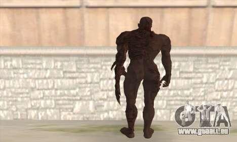 Tyrant T002 pour GTA San Andreas deuxième écran