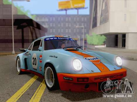 Porsche 911 RSR 3.3 skinpack 2 pour GTA San Andreas