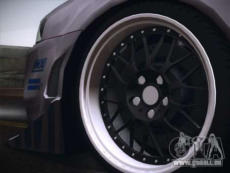 Nissan Skyline R34 FnF für GTA San Andreas Rückansicht