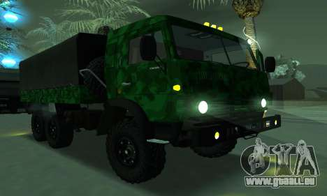 Armée KAMAZ 4310 pour GTA San Andreas