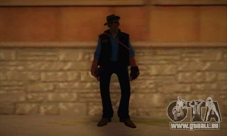 Haut-Scharfschützen von Team Fortress 2 für GTA San Andreas