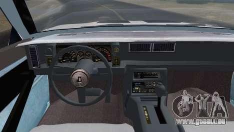 Chevrolet Camaro IROC-Z 1989 FIXED pour GTA San Andreas vue de droite