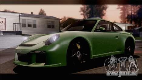RUF RGT-8 pour GTA San Andreas vue intérieure