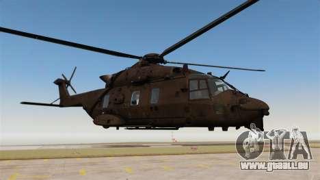 Eurocopter NHIndustries NH90 [EPM] pour GTA 4 Vue arrière