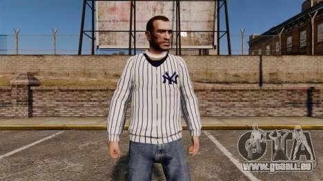 Pullover-New York Yankees - für GTA 4