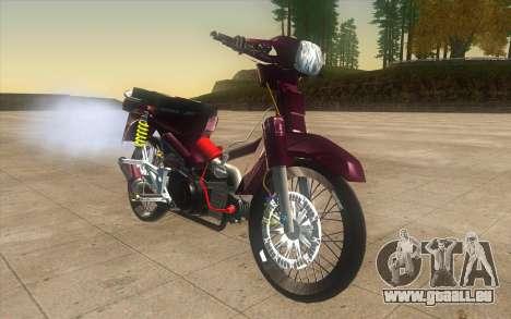 Honda Dream 100 VietNam pour GTA San Andreas vue de droite