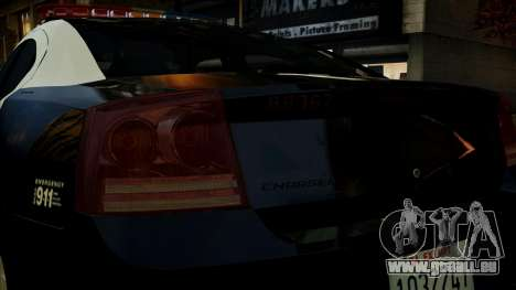 Dodge Charger LAPD 2008 für GTA 4 obere Ansicht