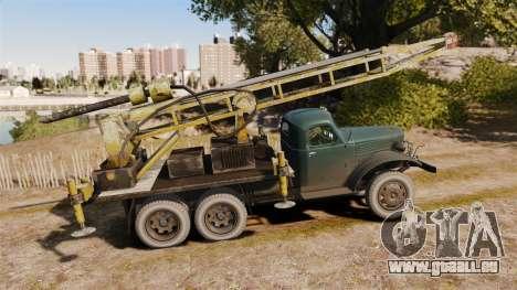 ZIL-157 Bohren für GTA 4 linke Ansicht