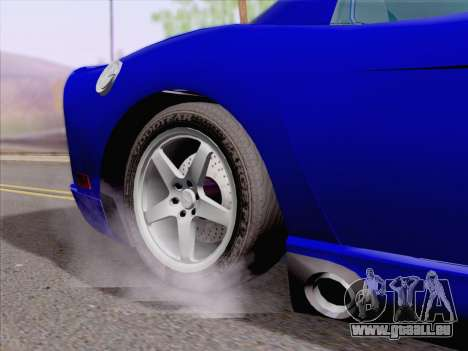 Dodge Viper SRT-10 Coupe pour GTA San Andreas vue intérieure