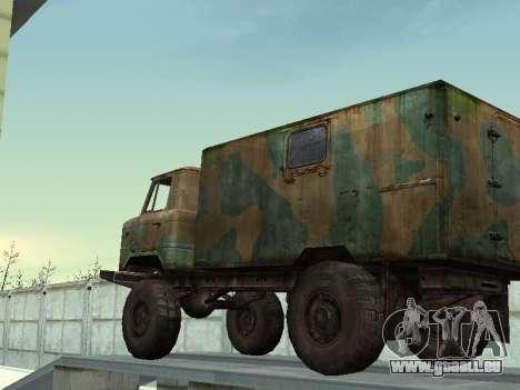 GAZ 66 für GTA San Andreas Seitenansicht