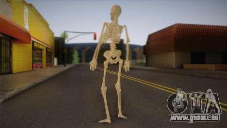 Squelette pour GTA San Andreas deuxième écran