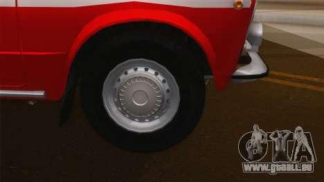 Protection contre l'incendie VAZ 21011 pour GTA San Andreas vue de droite