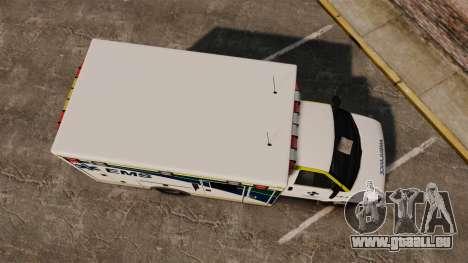Brute Alberta Health Services Ambulance [ELS] für GTA 4 rechte Ansicht