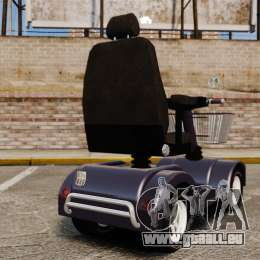 Funny Electro Scooter für GTA 4 hinten links Ansicht