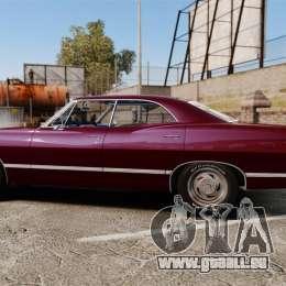 Chevrolet Impala 1967 für GTA 4 linke Ansicht