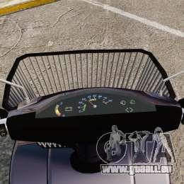 Funny Electro Scooter pour GTA 4 Vue arrière
