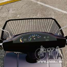 Funny Electro Scooter für GTA 4 Rückansicht