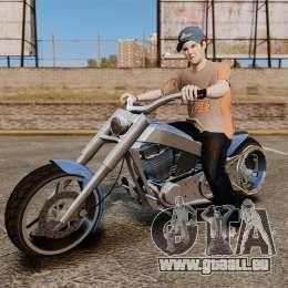 GTA IV TLAD Innovation für GTA 4 Rückansicht