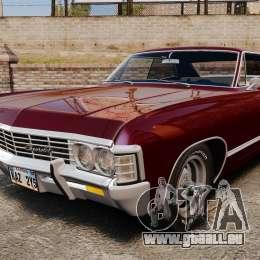 Chevrolet Impala 1967 pour GTA 4