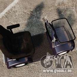 Funny Electro Scooter pour GTA 4 est un droit