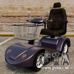 Funny Electro Scooter für GTA 4