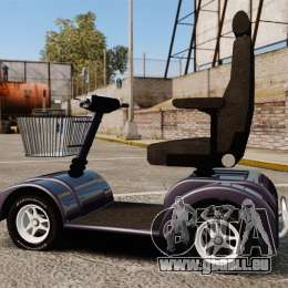 Funny Electro Scooter für GTA 4 linke Ansicht