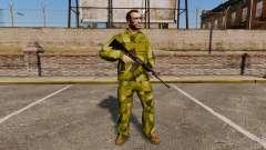 L'uniforme de camouflage suédois
