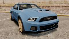 Ford Mustang GT 2013 Widebody NFS Edition für GTA 4