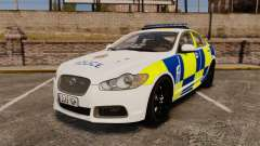 Jaguar XFR 2010 Police Marked [ELS]