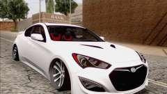 Hyundai Genesis Stance