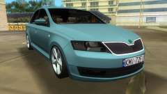 Skoda Rapid 2013 pour GTA Vice City