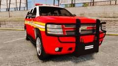 Chevrolet Tahoe Fire Chief v1.4 [ELS] für GTA 4