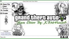 Grand Theft Auto V Save Editor v.2.0.1.0 pour GTA 5