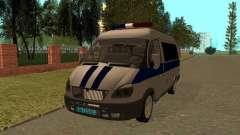 GAS-Rotmarderhaar Polizei