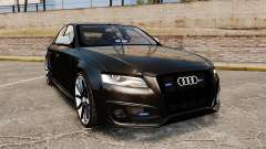 Audi S4 Unmarked Police [ELS] pour GTA 4
