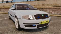 Skoda Superb 2006 Unmarked Police [ELS]