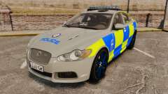 Jaguar XFR 2010 West Midlands Police [ELS] für GTA 4
