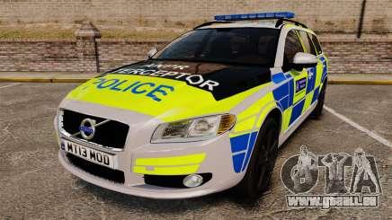 Volvo V70 Metropolitan Police [ELS] für GTA 4