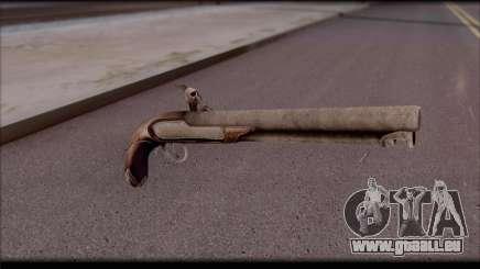 Flint-Lock-Pistole für GTA San Andreas