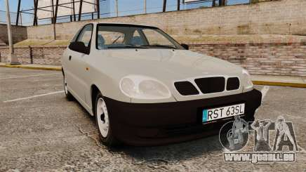 Daewoo Lanos S PL 1997 pour GTA 4