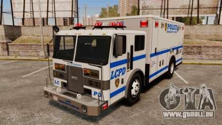 Hazmat Truck LCPD [ELS] pour GTA 4