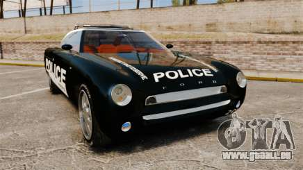 Ford Forty Nine Concept 2001 Police [ELS] für GTA 4