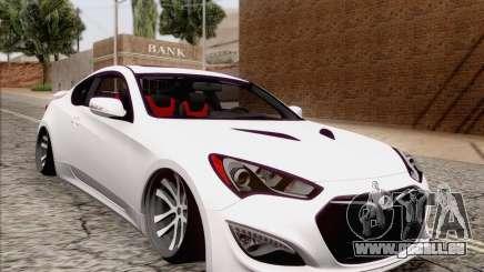 Hyundai Genesis Stance für GTA San Andreas