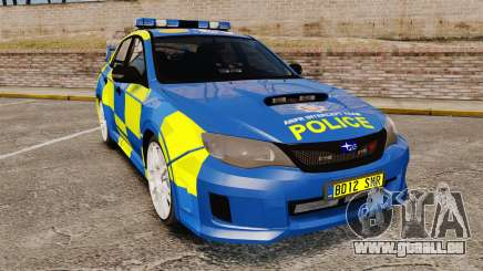 Subaru Impreza WRX STI 2011 Police [ELS] pour GTA 4