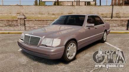 Mercedes-Benz S600 W140 pour GTA 4