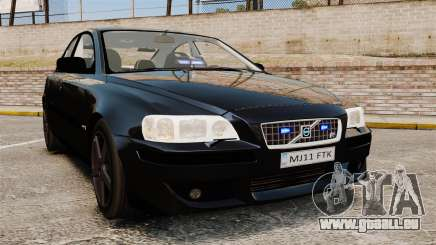 Volvo S60R Unmarked Police [ELS] pour GTA 4