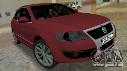 Volkswagen Passat 2007 pour GTA Vice City