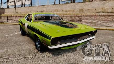 Plymouth Cuda AAR 1970 pour GTA 4