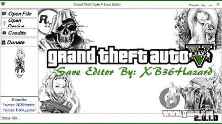 Grand Theft Auto V Save Editor v.2.0.1.0 pour GTA 5