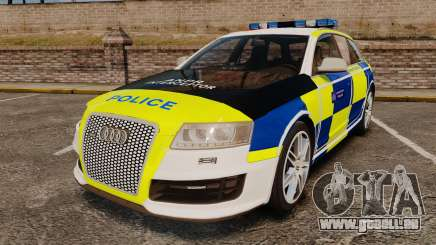 Audi RS6 Avant Metropolitan Police [ELS] pour GTA 4